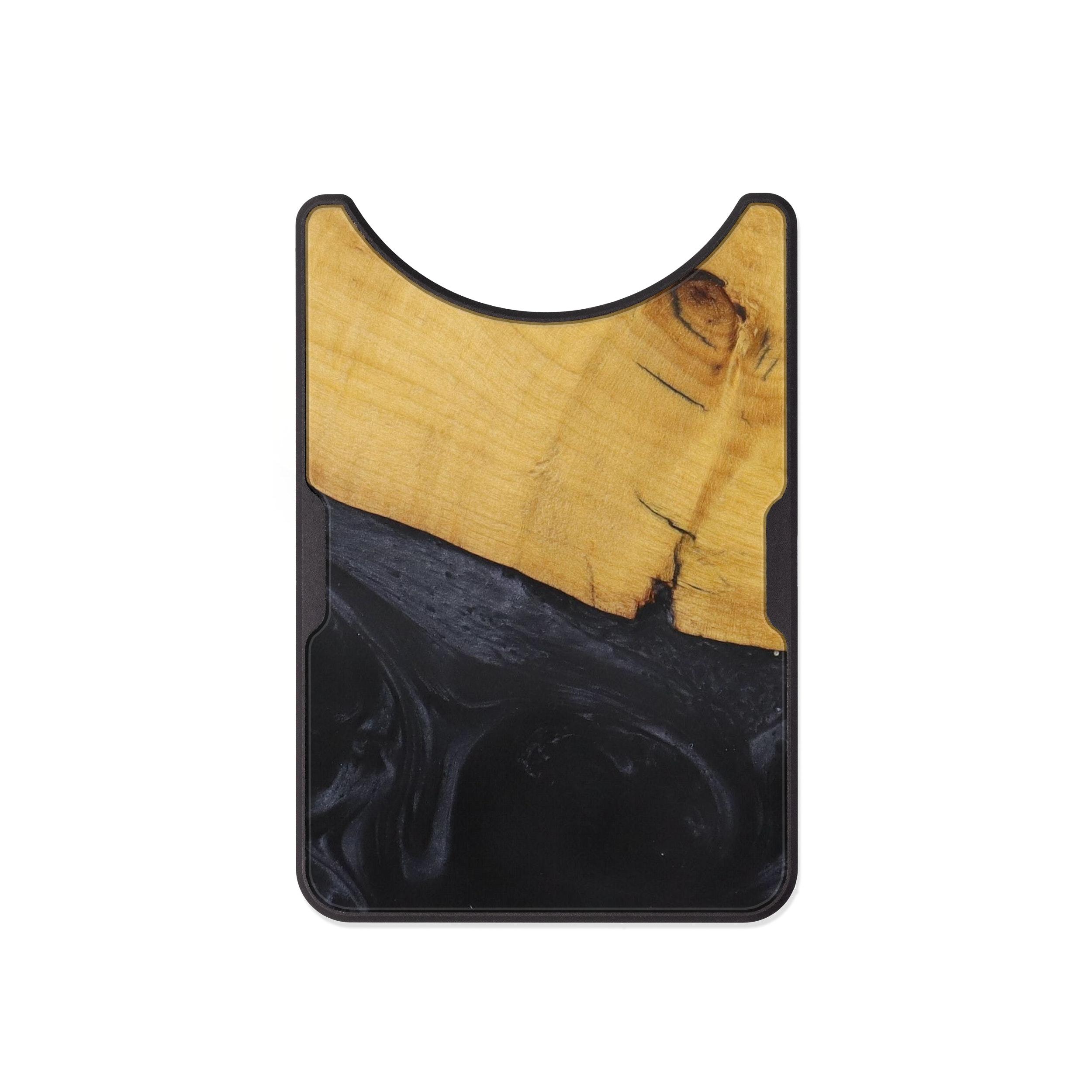 Alloy Wood+Resin Wallet - Kenyon (Pure Black, 472596)